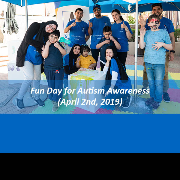Fun Day for Autism Awareness(April 2nd, 2019)